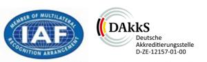 Logo Akkreditierung IFA DAkkS