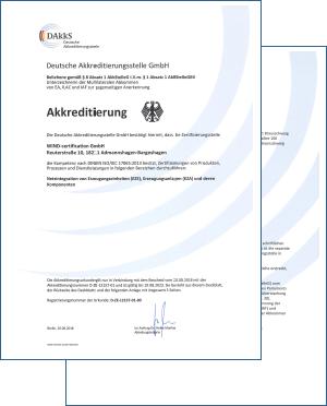 DAkkS-Akkreditierungsurkunde | PDF